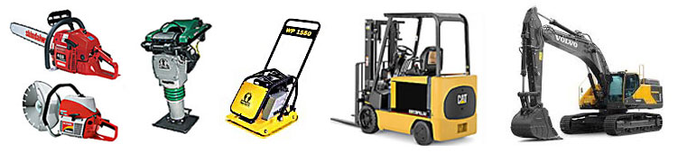 Equipment rentals in Olympia WA, Lacey, Tumwater, McCleary Washington, Fort Lewis