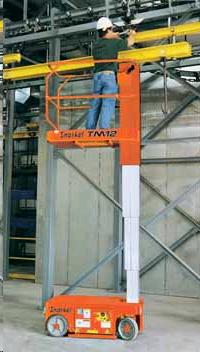 Where to find 12  VERTICAL MAST LIFT TM12 in Olympia