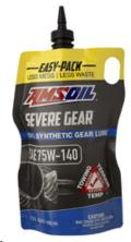 Rental store for AMSOIL 75W-140 SEVERE GEAR QT BAG in Olympia WA