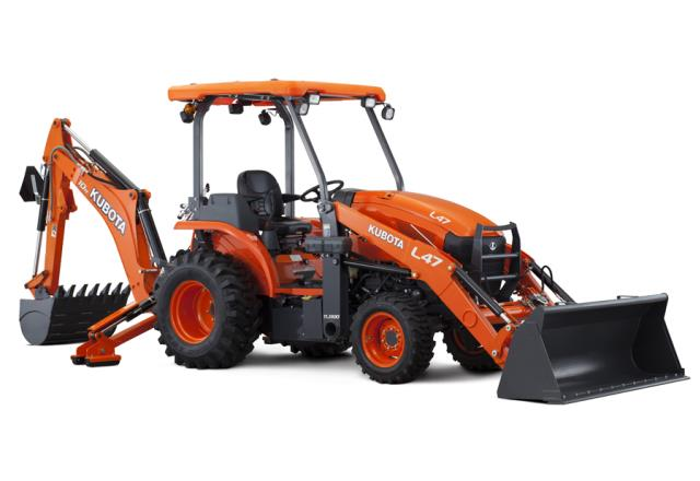Where to find BACKHOE KUBOTA L47 in Olympia
